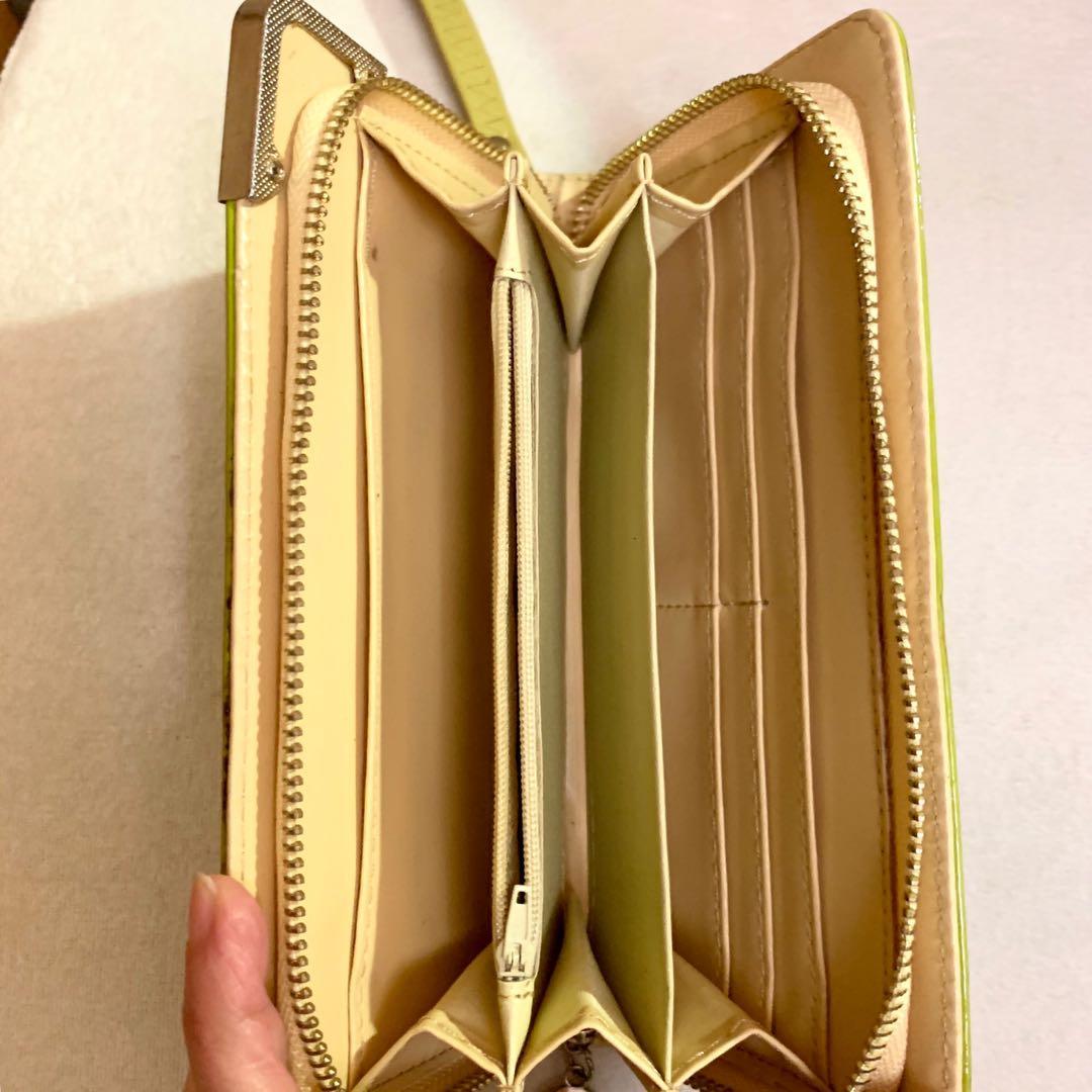 Long wallet clutch
