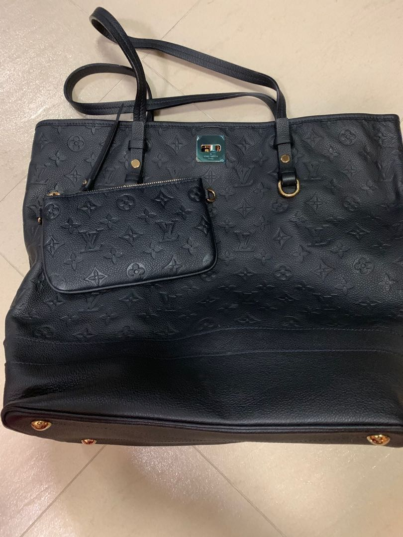 Louis Vuitton Monongram Empreinte Bag Authentic