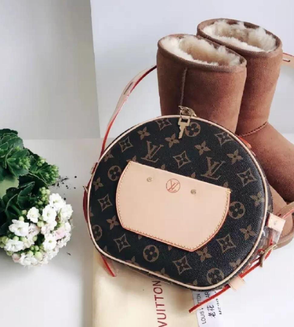 fe319d2dec7a Louis Vuitton PETITE BOITE CHAPEAU Sling Bag