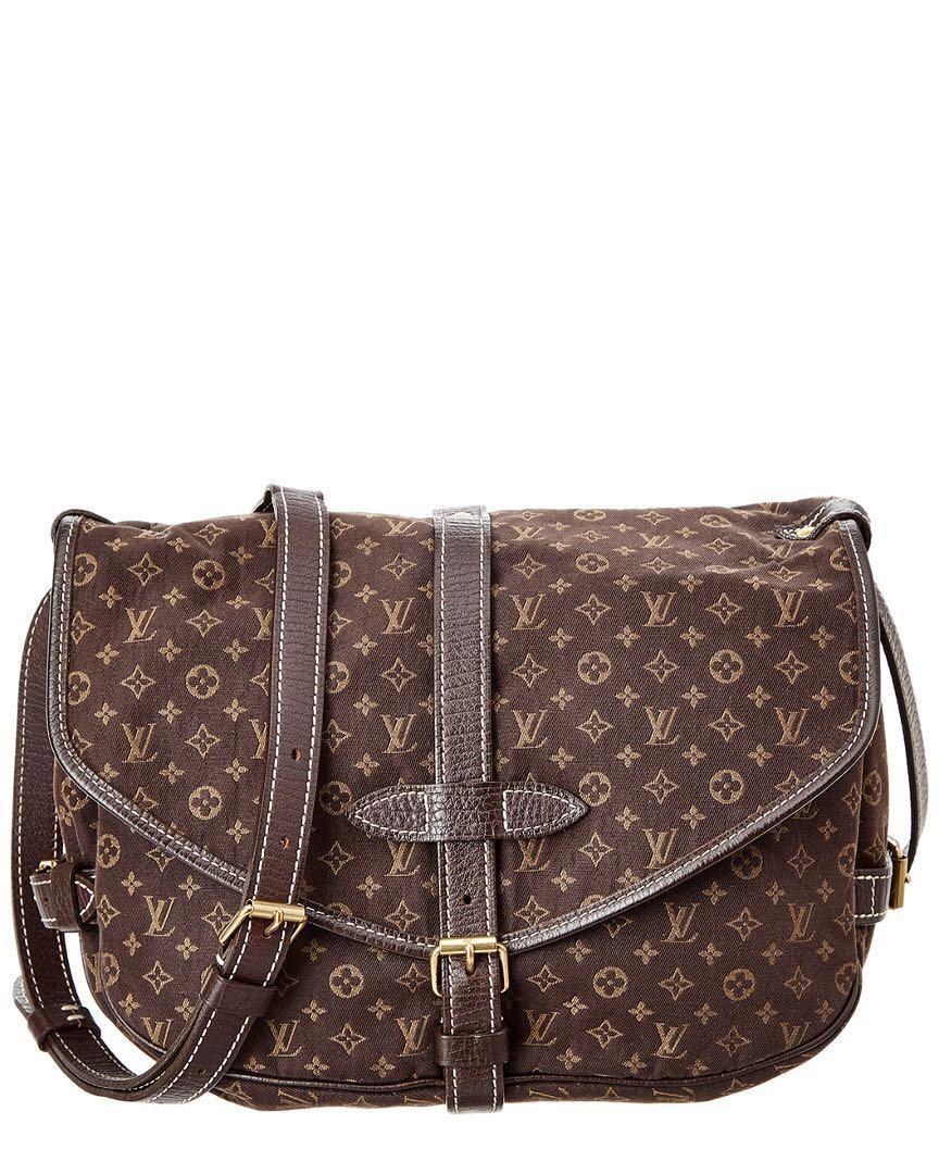 9e6ccd2e50e8 Louis Vuitton -SAUMUR 30 SHOULDER BAG MONOGRAM MINI LIN