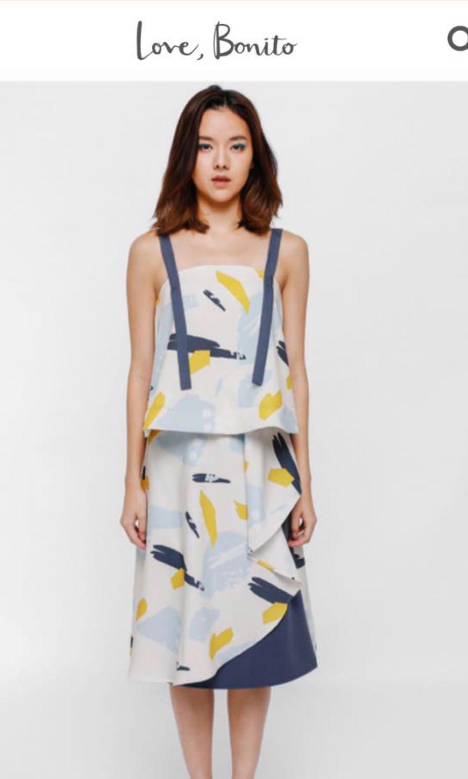 e097c2ca3e Love bonito pavanka sash tie back top, Women's Fashion, Clothes ...