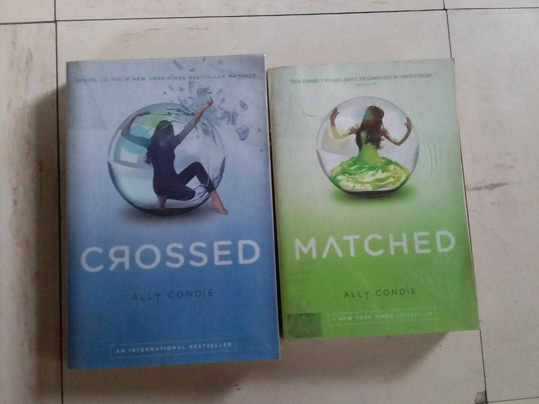 Matched, Crossed by Ally Condie (350 for both, 200 each)