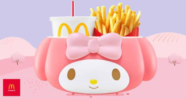McDonald's My Melody Bucket