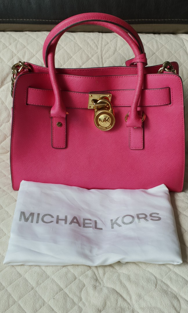 79960f04efa8 Michael Kors Bright Pink Handbag - Best Handbag In 2018