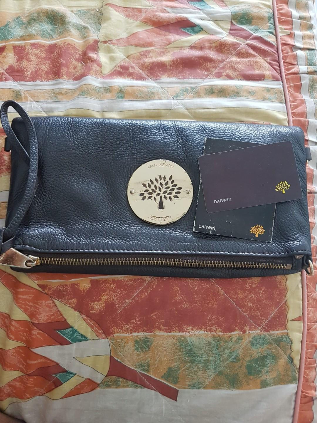 Mulberry Darwin Luxury Bags Wallets Clutches On Carou