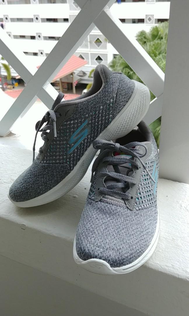 New Design Sketchers Grey Sneakers