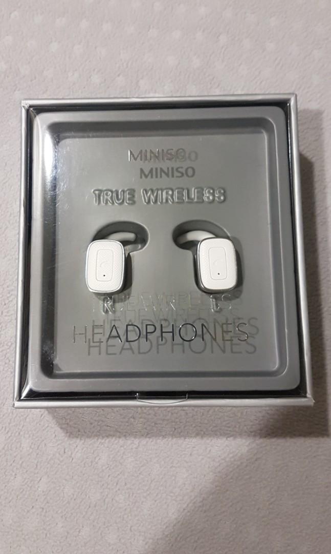 64da77cdc17 New MINISO True Wireless Headphones Q5 (Silver), Mobile Phones ...