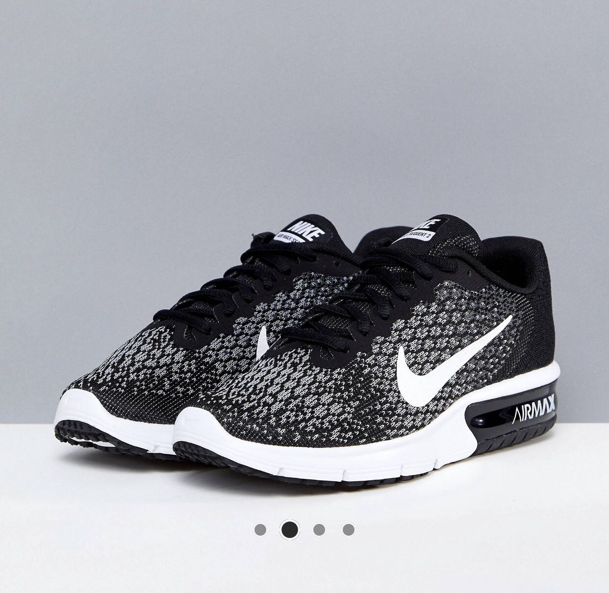 9a2275a70b Nike Air Max Sequent 2, Women's Fashion, Shoes, Sneakers on Carousell