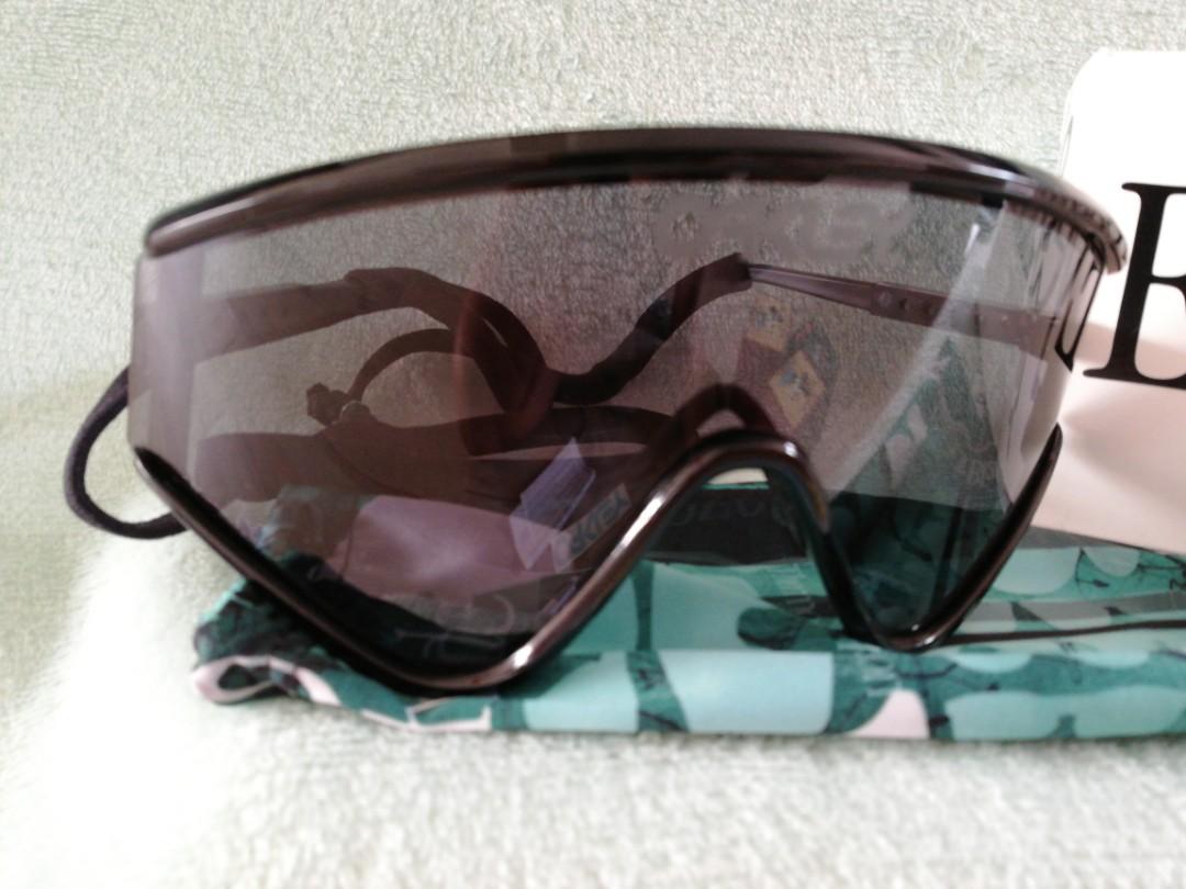 26964441704 Oakley Eye shade Black frame grey lens