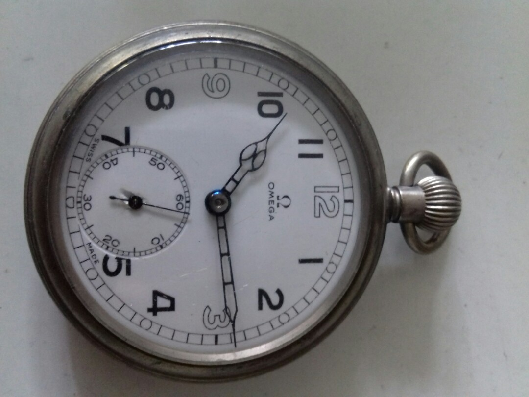 75ed93f93 Omega vintage Pocket Watch, Luxury, Watches on Carousell
