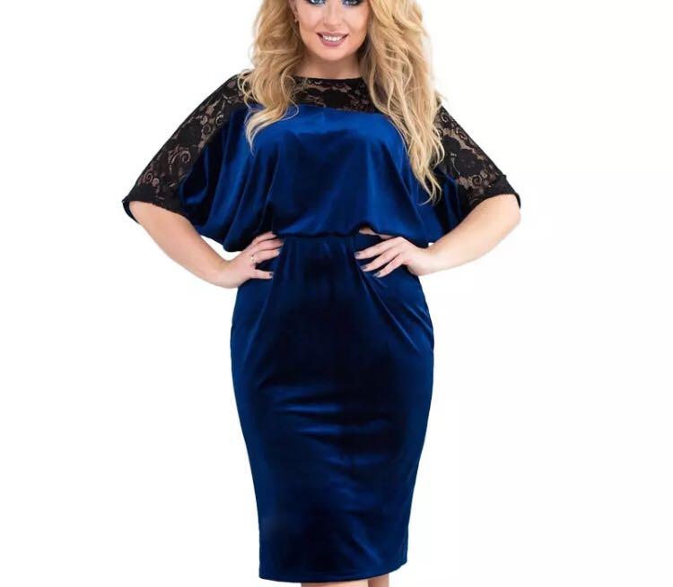 cfbe2dad8221d PO) L-6XL 2018 Spring 5XL 6XL Plus Size Lace Dress Women Big Sizes ...
