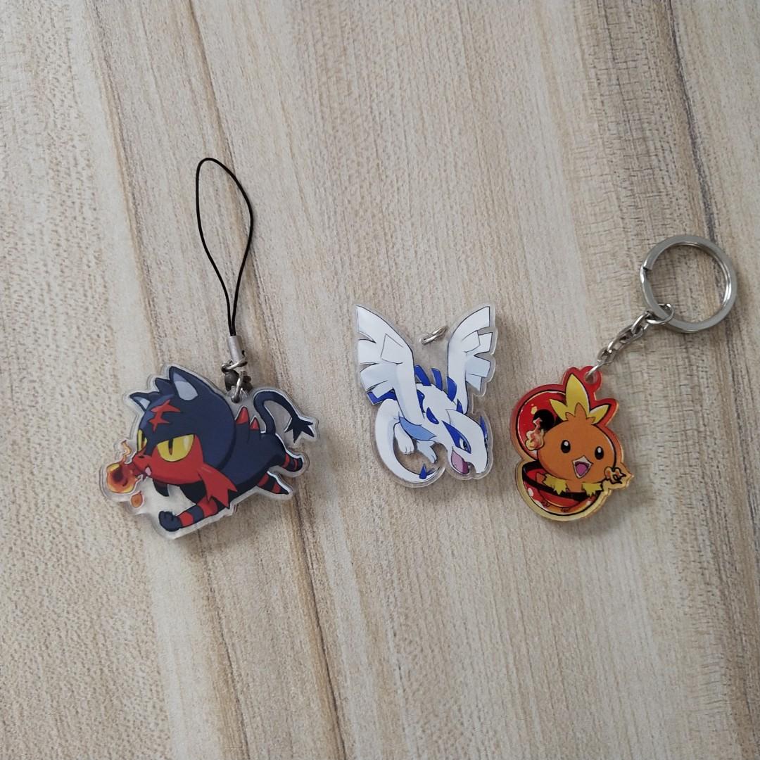 Pokemon Keychain Entertainment J Pop On Carousell