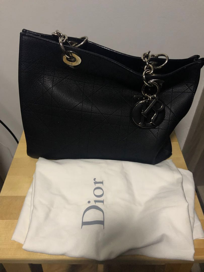 Price reduced!  UltraDior tote bag in small - black bb961381b2670
