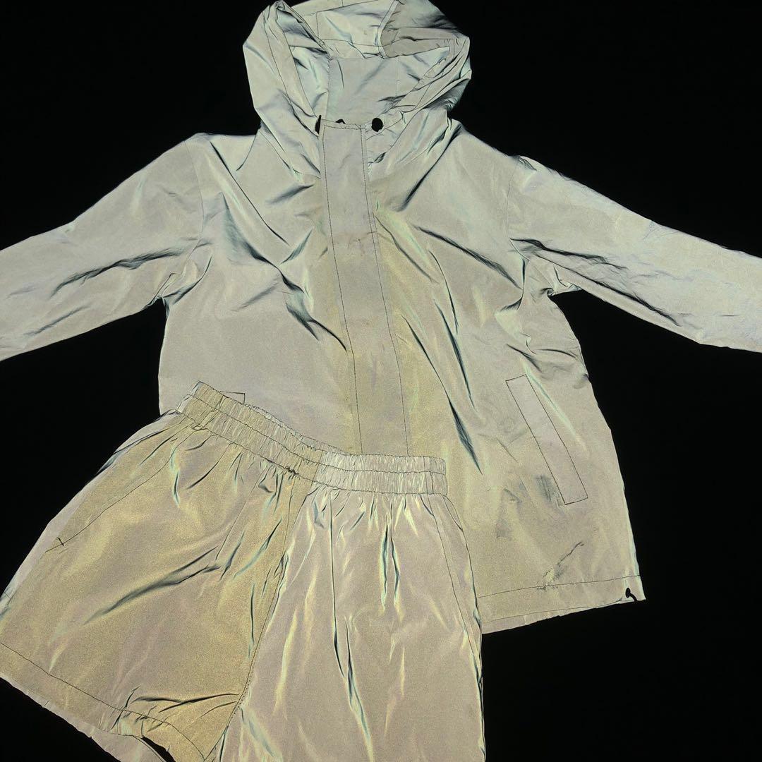 Reflective Jacket & Shorts Set