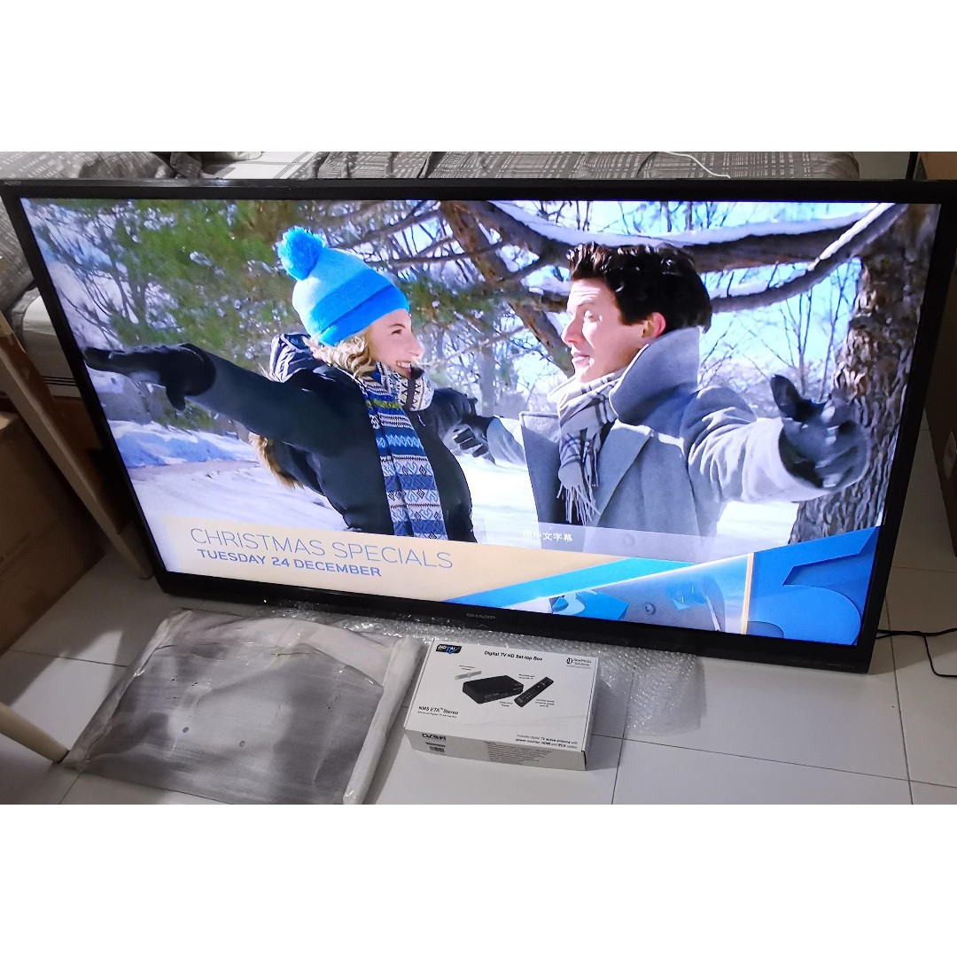 Sharp Aquos 60 inch LCD TV, Electronics, Others on Carousell
