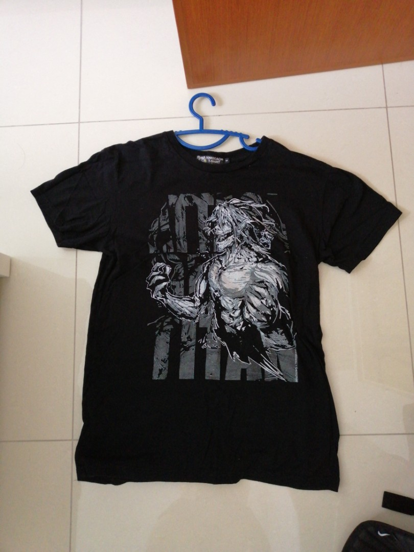 4d394e699bd Shingeki No Kyojin T shirt, Men's Fashion, Clothes, Tops on Carousell