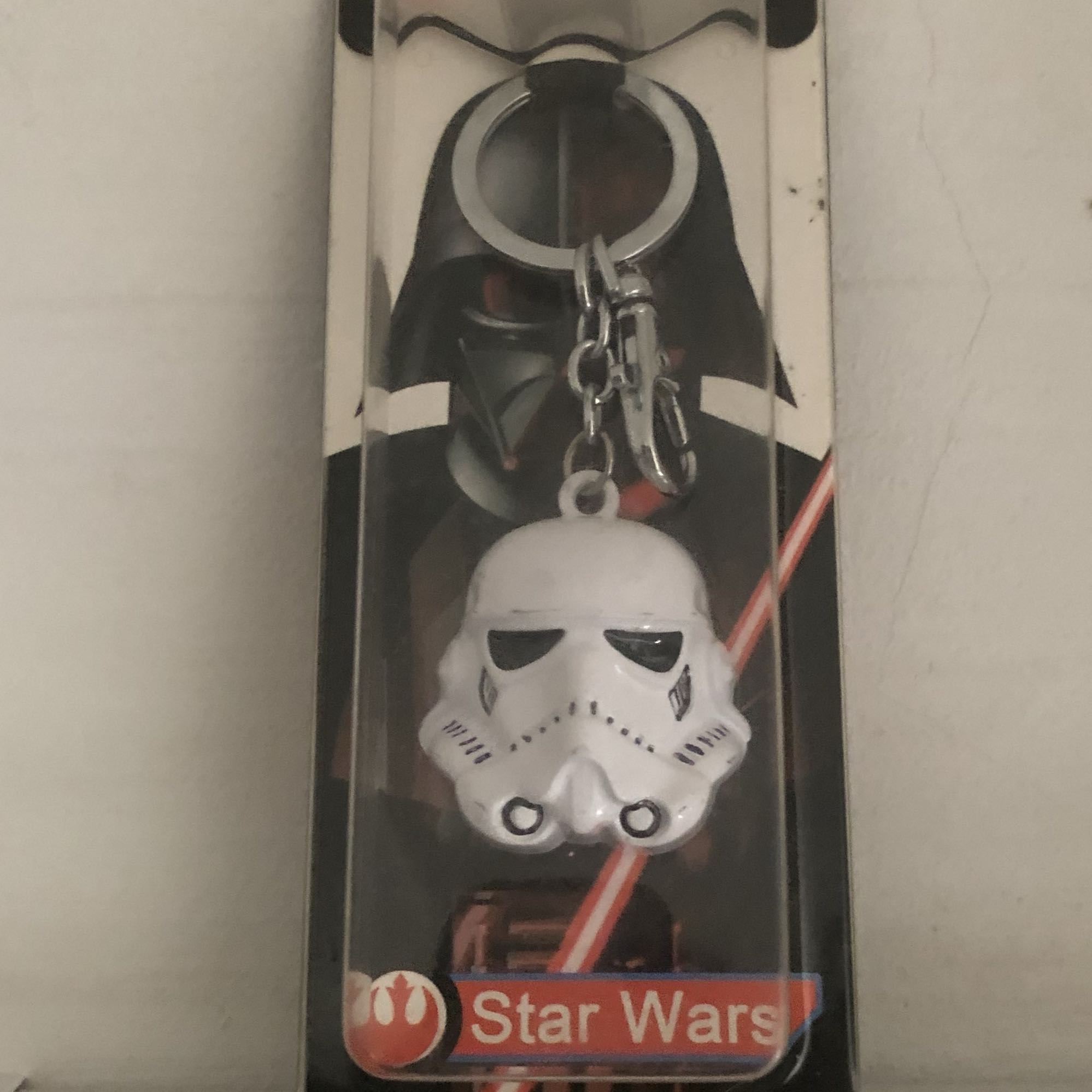 Star Wars Stormtrooper Keychain Mens Fashion Accessories Others