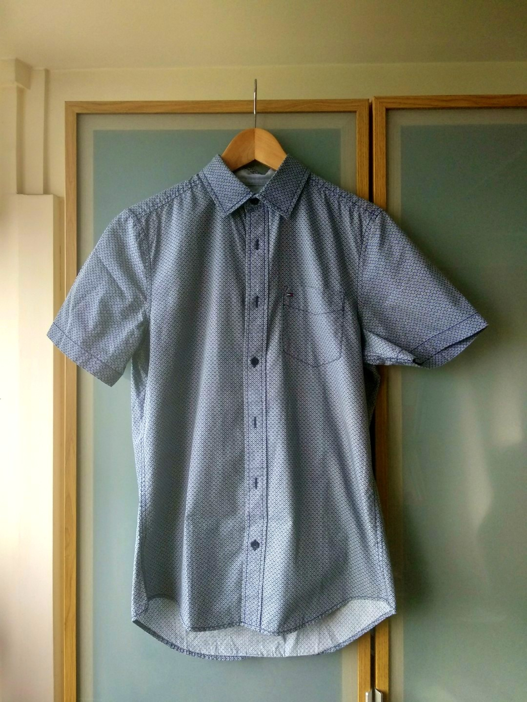 f91518ce Tommy Hilfiger Shirt, Men's Fashion, Clothes, Tops on Carousell