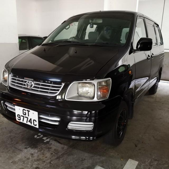 Toyota hiace & liteace and Nissan urvan van for rent lease