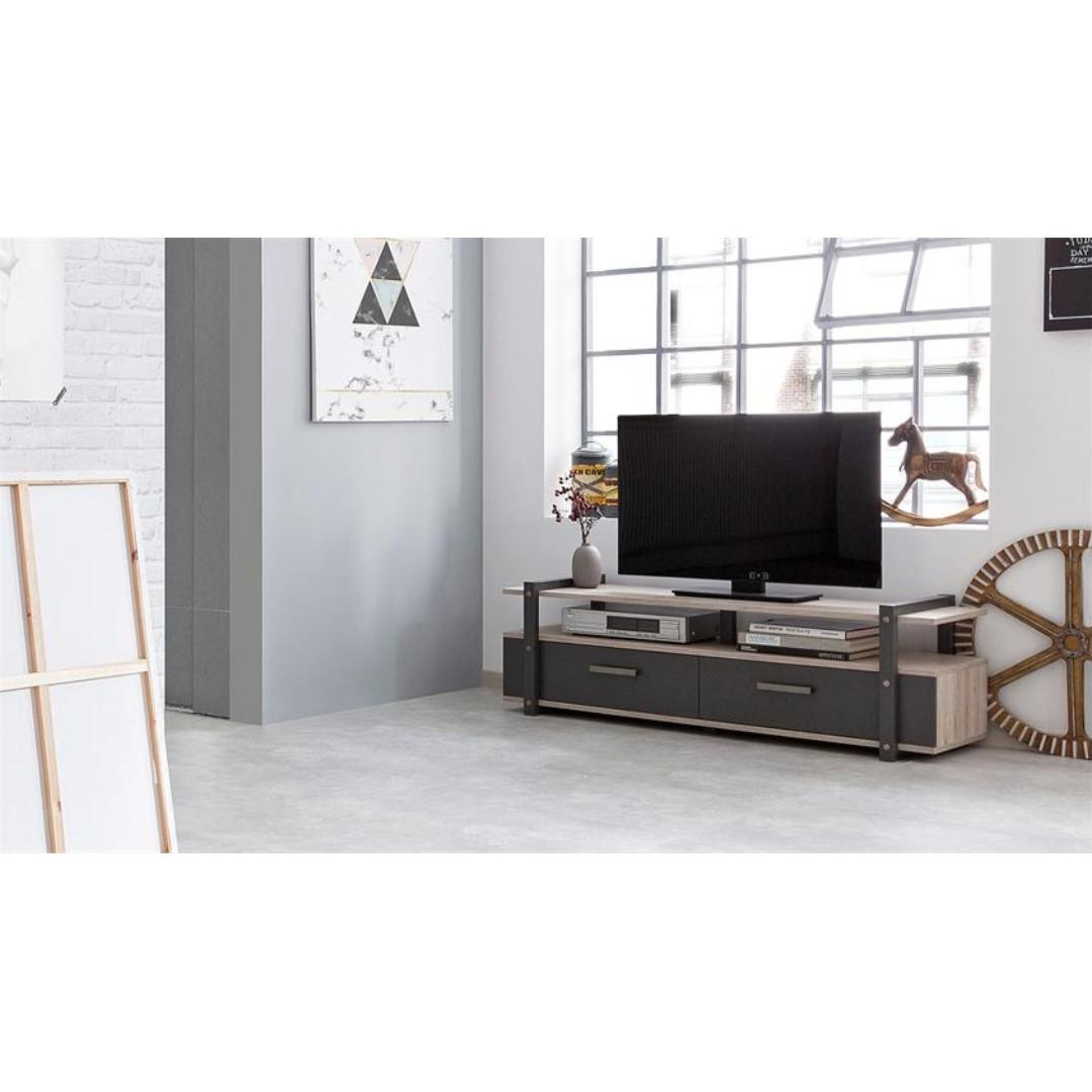 Tv Console 140cm Industrial Style Furniture Tables