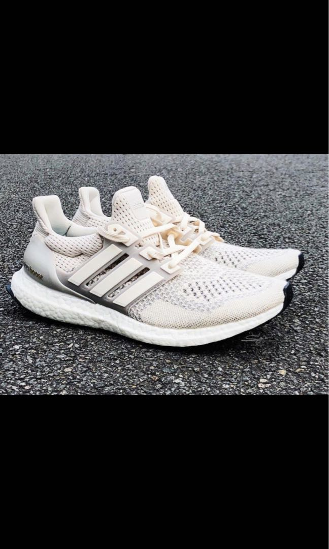 99b56635e Ultra boost cream, Men's Fashion, Footwear, Sneakers on Carousell