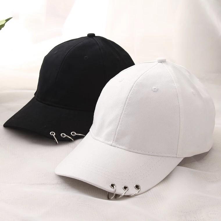 857a045843c Carousell의 Unisex Plain 3-Rings Fashion Baseball Cap Korean Ulzzang ...