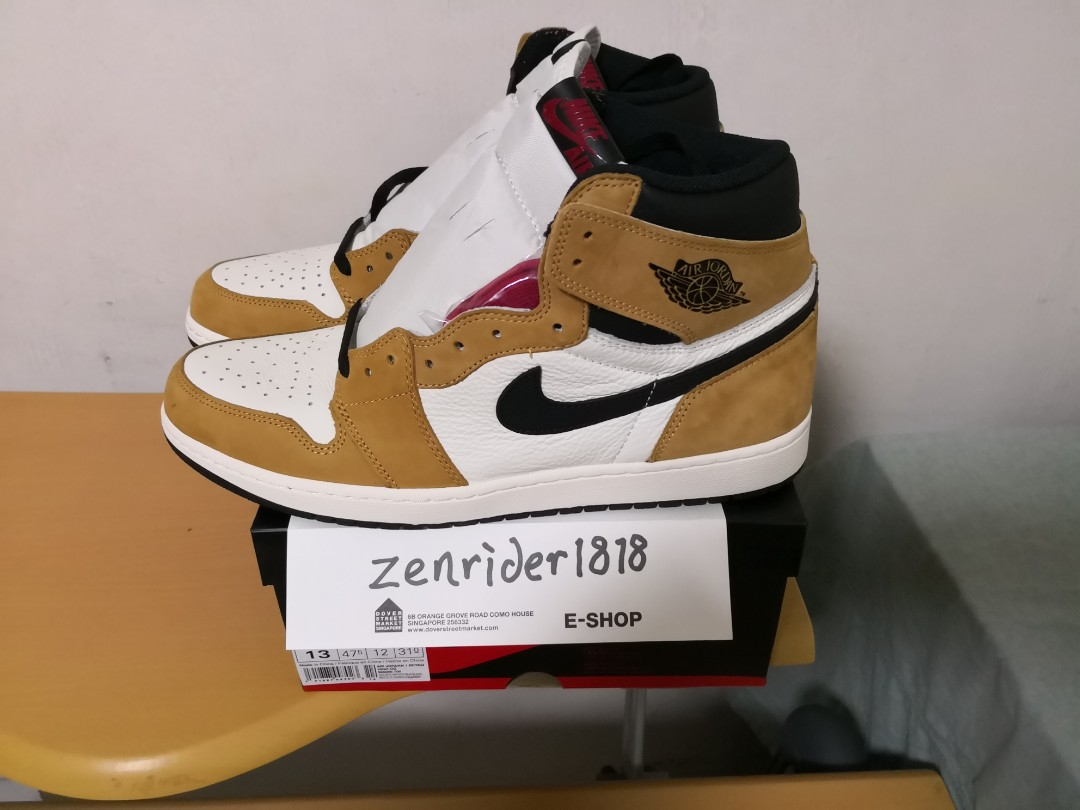 5a33292f089da4 US13 UK12 47.5 Jordan 1 ROTY (Rookie of the year) - authentic