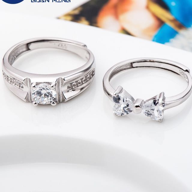 Valentine Day Gift Couple Rings Birthday Girlfriend Womens Fashion Jewellery On Carousell