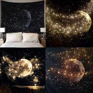 PREORDER - Universe LED Lights Wall Hanging Mat Home Decor