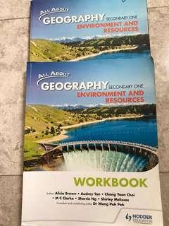 All about Geography sec 1 textbook - Environment and Resources