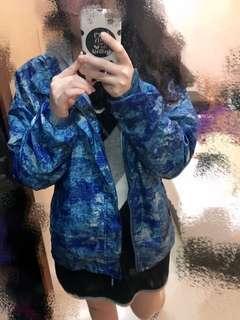 清倉/迷彩防水風衣外套