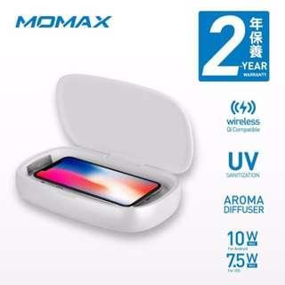 Momax Q Power UV-Box 無線充電紫外光消毒盒