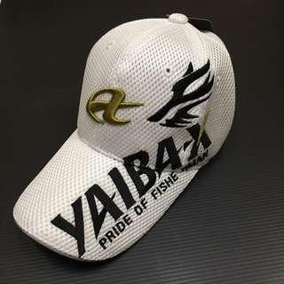 🚚 全新YAIBA-X不死狼釣魚帽(白色)