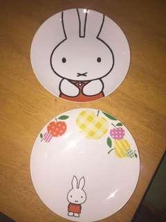 (Both) Miffy Dinner Plate