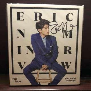 🚚 YEAR END SALE! 비매 Eric Nam Interview Autographed Album