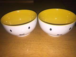 (Both) Miffy Bowl