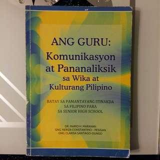 Ang Guru: Komunikasyon at Pananaliksik sa Wika at Kulturang Pilipino