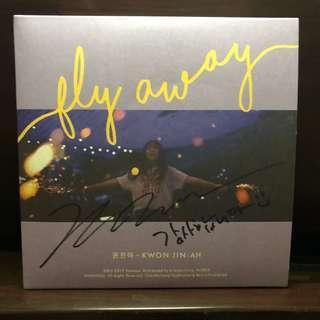 🚚 YEAR END SALE! 비매 Kwon Jinah Fly Away Digital Single Autographed Album