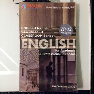 English for the Globalized Classroom Series - English for Academic & Professional Purposes