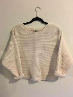 Aritzia Babaton cropped knit