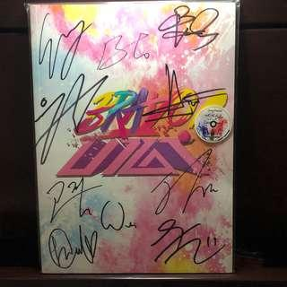 🚚 YEAR END SALE! 비매 UP10TION Bravo Autographed Album