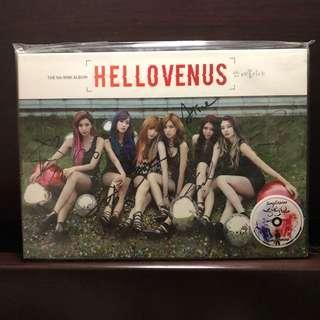 🚚 YEAR END SALE! 비매 Hello Venus I'm I'll Autographed Album