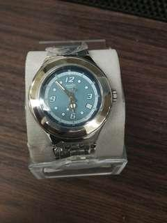 Swatch Irony Original Authentic Stainless stell Baru Murah not Victorinox Nautica GC Fossil Guess Seiko Casio Gshock