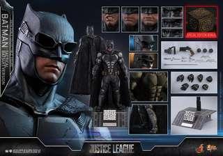 Hot toys batman tactical suit 特別版單