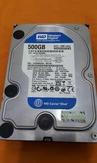 🚚 500.gb WD 3.5 hdd