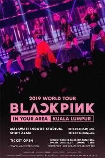 Blackpink concert ticket ticketing service