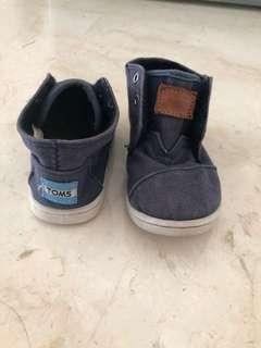 Toms shoes boy 1,5years-2years