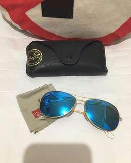 Authentic Rayban with Flash Lens Unisex
