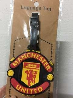 Manchester United Luggage Tag