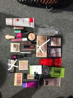 Makeup clean out